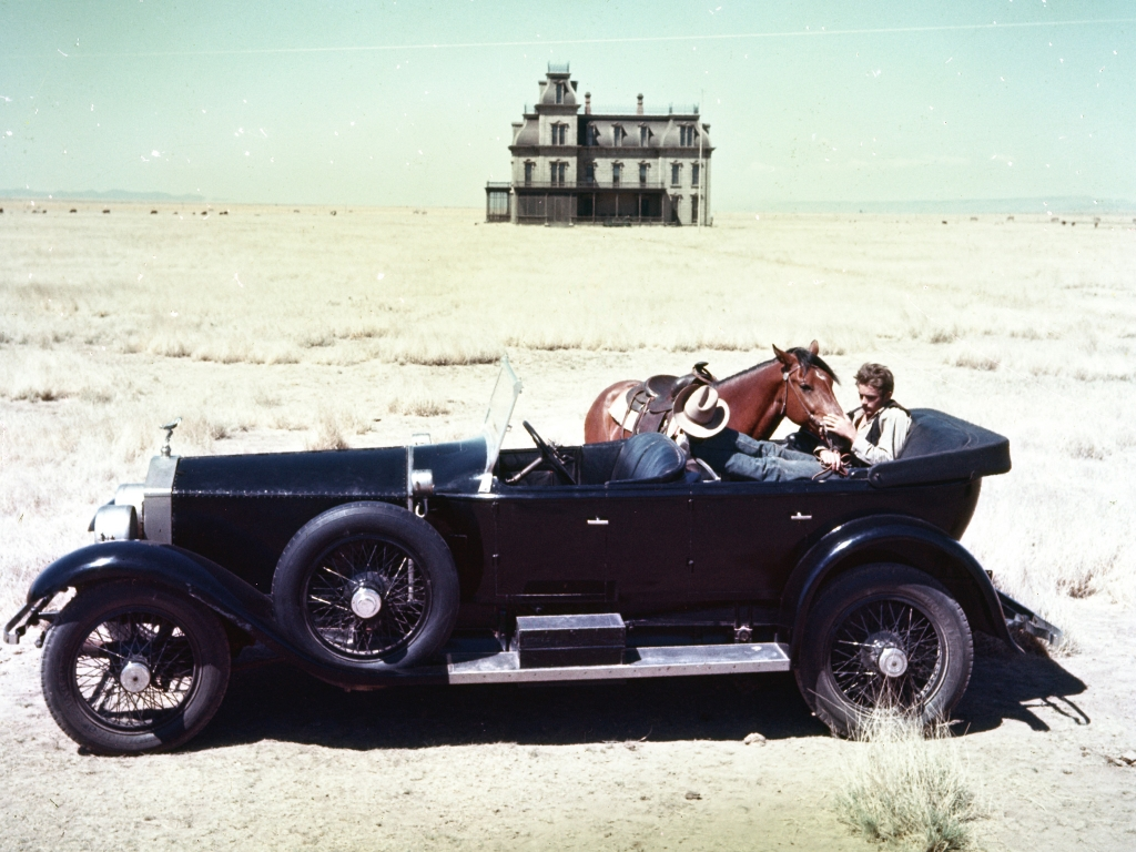 James Dean in Giant - picture of the day