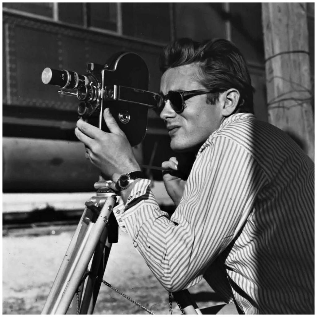 james-dean-on-the-set-of-giant-1955-b
